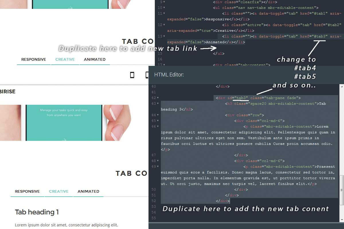 Twitter Bootstrap Responsive Theme
