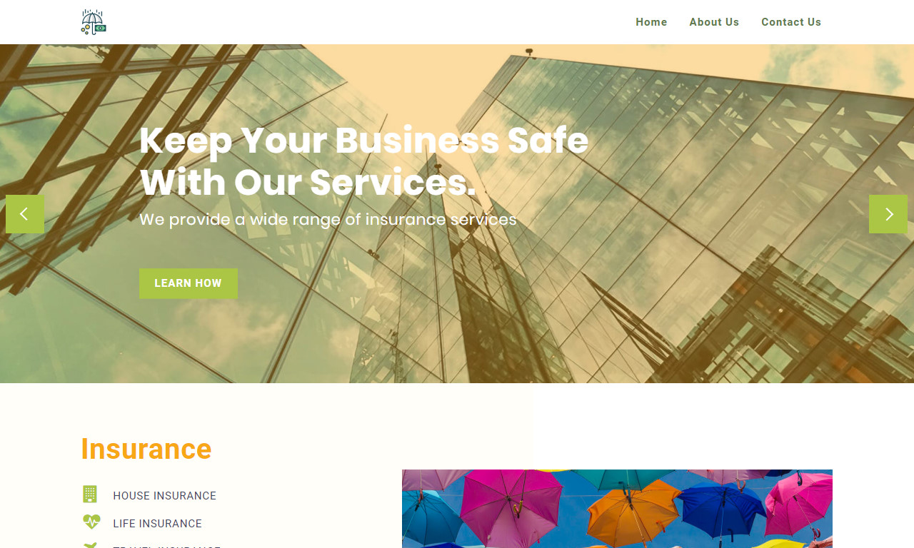 Consulting Website Template